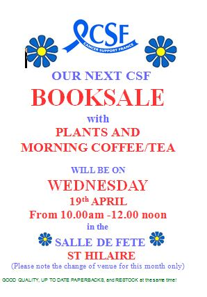 csf 19 booksale