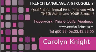 Carolyn Knight new ad
