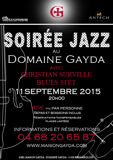 JAZZ 11.09 AUDE FLYER